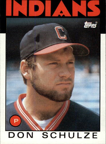 Photo of 1986 Topps #542 Don Schulze