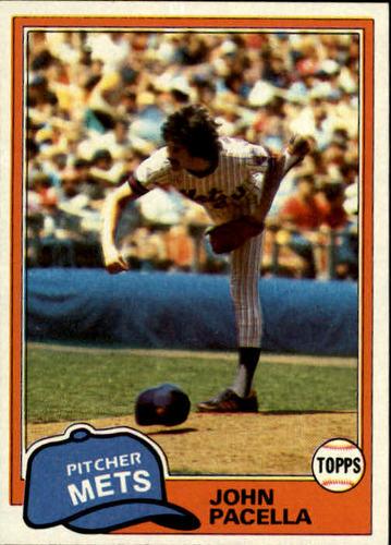 Photo of 1981 Topps #414 John Pacella DP RC