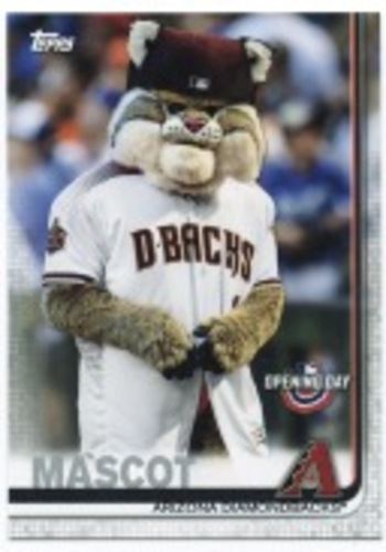 Photo of 2019 Topps Opening Day Mascots #M11 Mascot