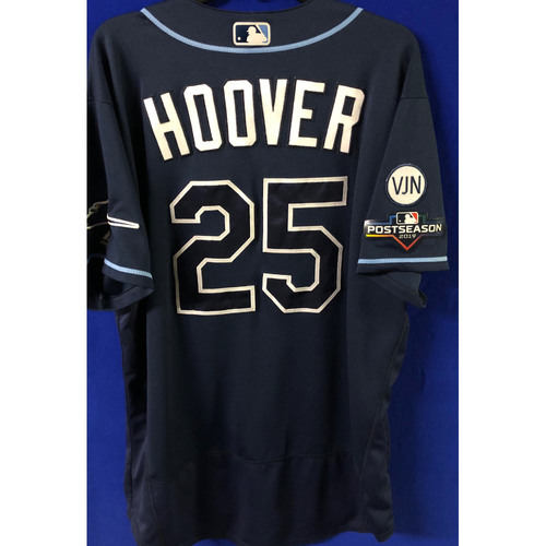 Photo of Game Used Postseason Jersey (WC/ALDS): Paul Hoover - October 2 (OAK) & October 10 (HOU)