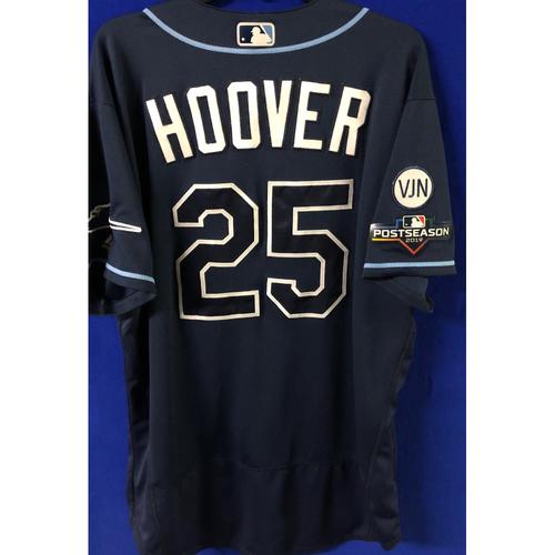 Game Used Postseason Jersey (WC/ALDS): Paul Hoover - October 2 (OAK) & October 10 (HOU)