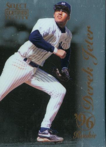 Photo of 1996 Select Certified #100 Derek Jeter