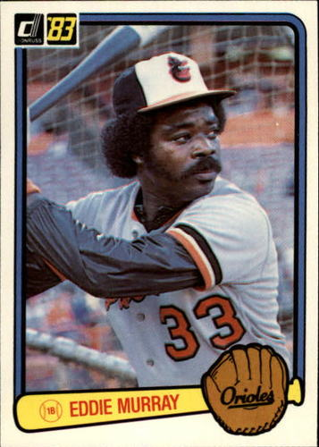 Photo of 1983 Donruss #405 Eddie Murray
