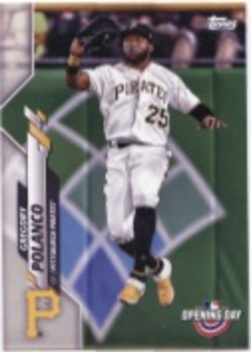 Photo of 2020 Topps Opening Day #137 Gregory Polanco