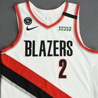 Gary Trent Jr. - Portland Trail Blazers - Game-Worn Association Edition Jersey - 2019-20 NBA Season Restart with Social Justice Message