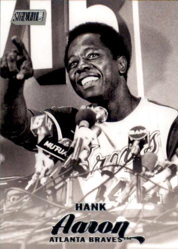 Photo of 2017 Stadium Club #55 Hank Aaron