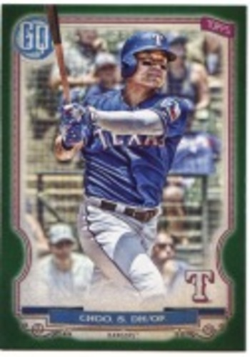 Photo of 2020 Topps Gypsy Queen Green #149 Shin-Soo Choo