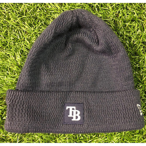 Photo of Rays Baseball Foundation: Team Issued Beanie Cap - Jose Alvarado