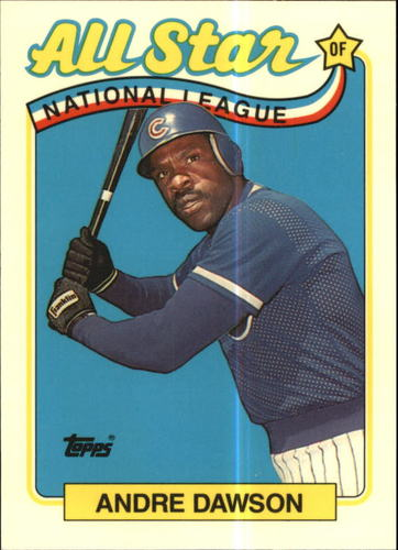 Photo of 1989 Topps Tiffany #391 Andre Dawson AS