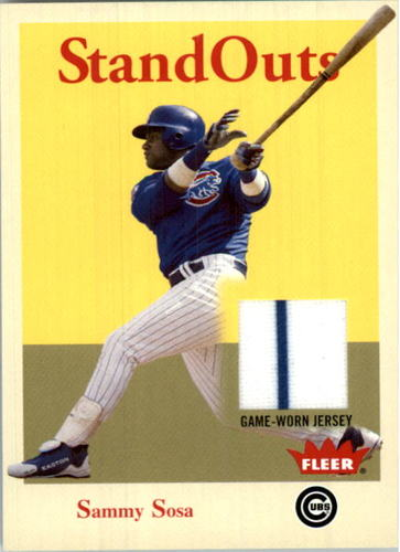 Photo of 2005 Fleer Tradition Standouts Jersey #SS Sammy Sosa