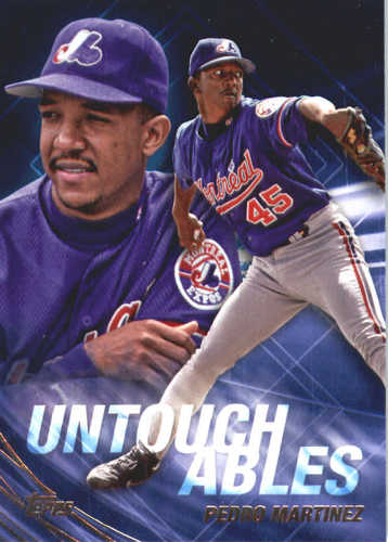 Photo of 2017 Topps Update Untouchables #U1 Pedro Martinez