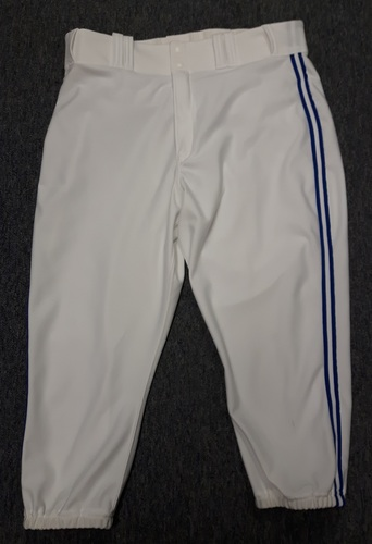 Photo of Authenticated Team Issued White Pants - #32 LaTroy Hawkins (2015 Season). Size 36-44 21.