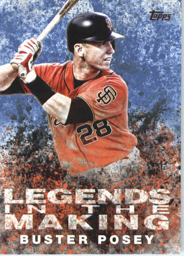 Photo of 2018 Topps Legends in the Making #LTMBP Buster Posey