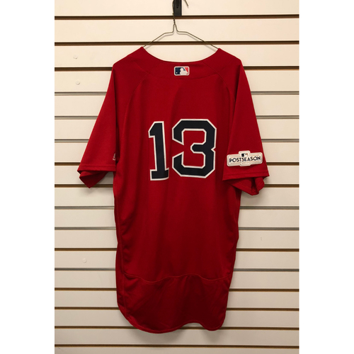 Photo of Hanley Ramirez Game-Used September 29, 2017 Home Alternate Jersey