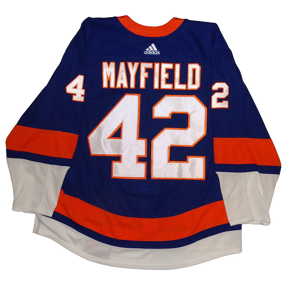 Scott Mayfield - Game Worn Home Jersey - 2017-18 Season - New York Islanders