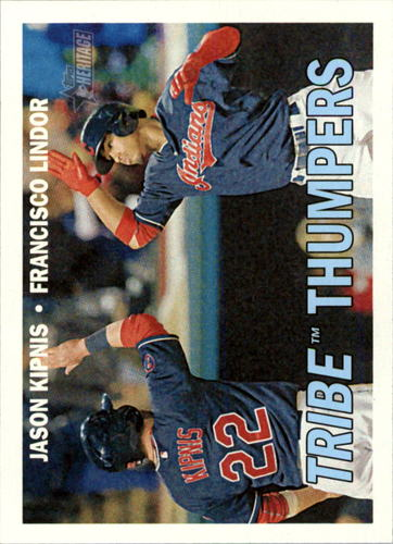Photo of 2016 Topps Heritage #109 Francisco Lindor/Jason Kipnis