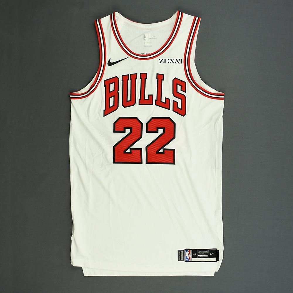 Cameron Payne - Chicago Bulls - Kia NBA Tip-Off 2018 - Game-Worn Association Edition Jersey