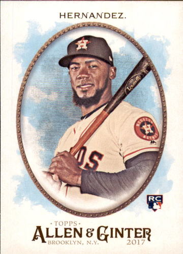 Photo of 2017 Topps Allen and Ginter #99 Teoscar Hernandez Rookie Card