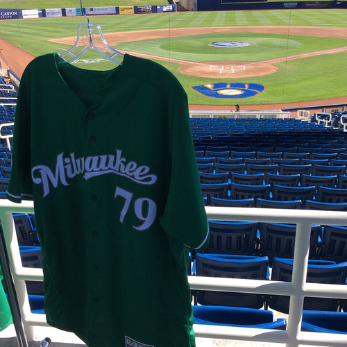 Photo of Dustin Houle 2018 Team-Issued St. Patrick's Day Jersey