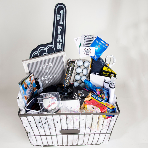"Photo of Matt Strahm ""Favorite Things"" Basket"