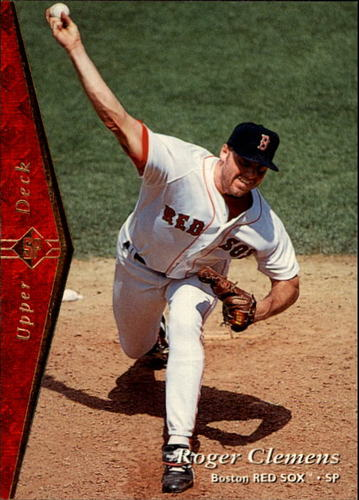 Photo of 1995 SP #127 Roger Clemens
