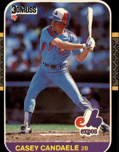 Photo of 1987 Donruss #549 Casey Candaele
