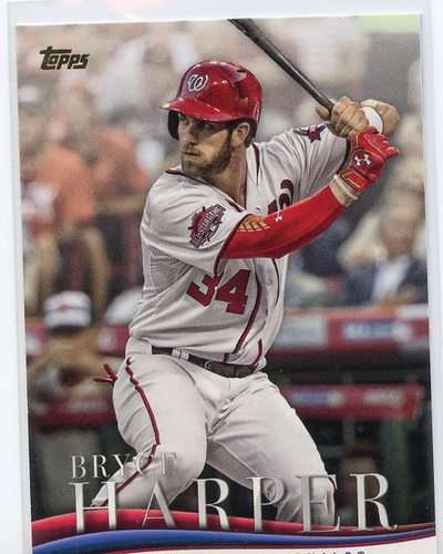 Photo of 2018 Topps Update Bryce Harper Highlights #BH12 Bryce Harper