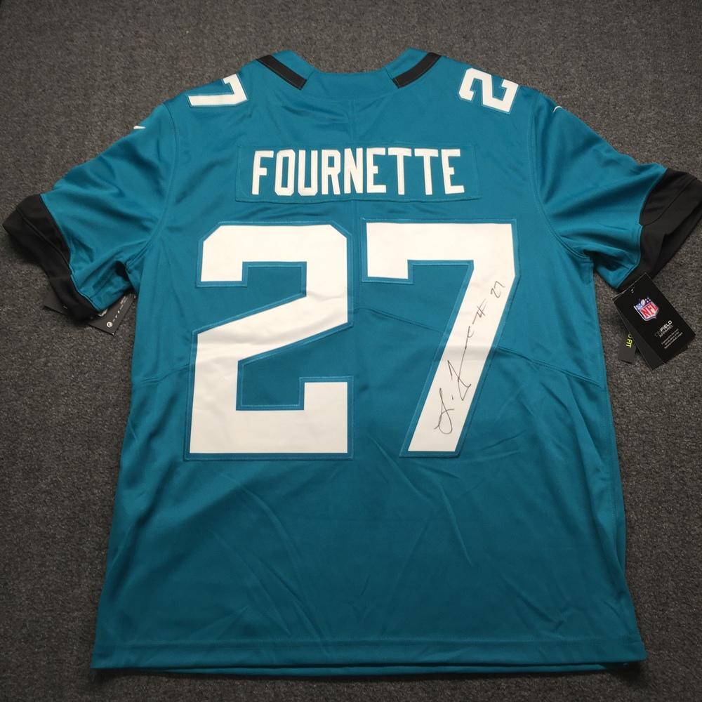 Jaguars - Leonard Fournette Signed Nike Limited Jersey Size L