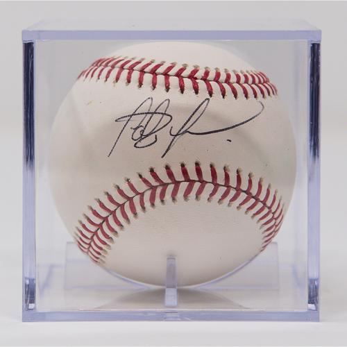 Photo of Fernando Tatis Jr. Autographed Baseball (Not MLB Authenticated, COA Included)