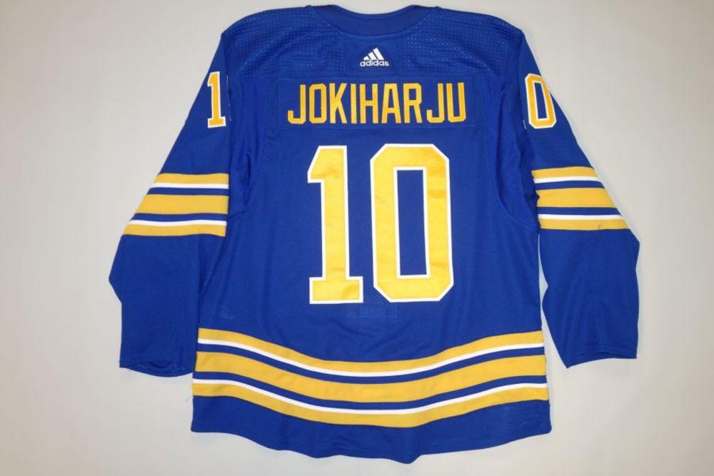 Henri Jokiharju 2020-21 Buffalo Sabres Set 2 Home Jersey