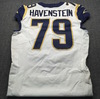 Crucial Catch - Rams Rob Havenstein Game Used Jersey (October 7th