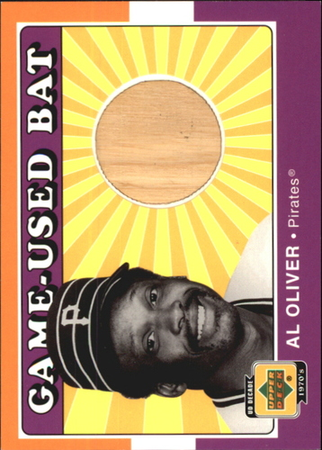 Photo of 2001 Upper Deck Decade 1970's Game Bat #BAO Al Oliver