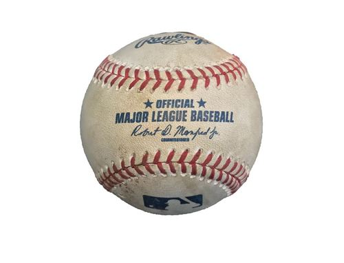 Game-Used Baseball from Pirates vs. Cubs on 9/28/16 - Arrieta to Rodriguez, Single