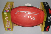 NFL - VIKINGS EVERSON GRIFFEN SIGNED AUTHENTIC FOOTBALL