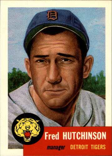 Photo of 1991 Topps Archives 1953 #72 Fred Hutchinson