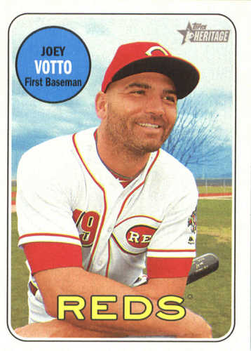 Photo of 2018 Topps Heritage #70 Joey Votto
