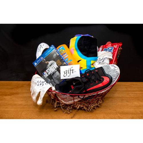 Photo of Christian Vazquez Favorite Things Basket