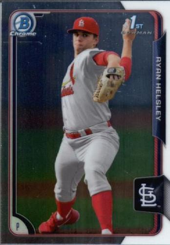 Photo of 2015 Bowman Chrome Draft #189 Ryan Helsley