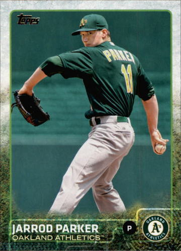 Photo of 2015 Topps #607 Jarrod Parker