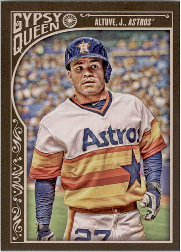 Photo of 2015 Topps Gypsy Queen #14A Jose Altuve