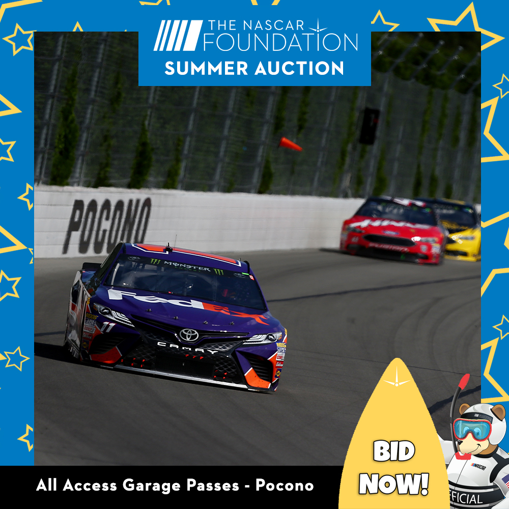All Access Garage Passes at Pocono!