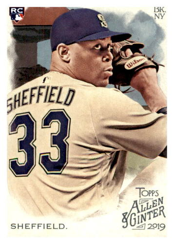 Photo of 2019 Topps Allen and Ginter #59 Justus Sheffield RC