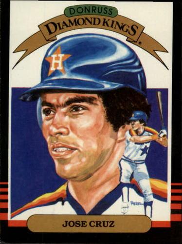 Photo of 1985 Leaf/Donruss #20 Jose Cruz DK