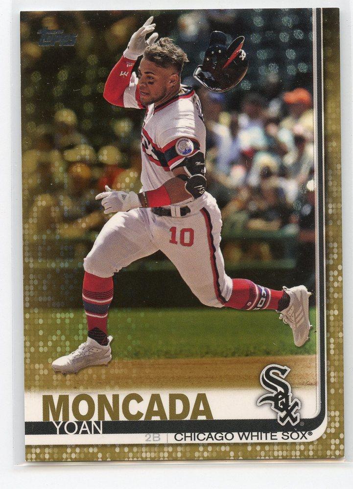2019 Topps Gold #377 Yoan Moncada