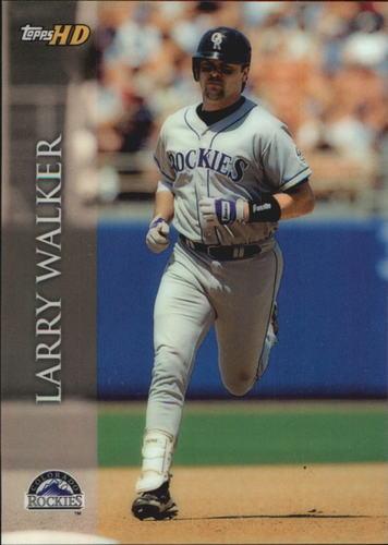 Photo of 2000 Topps HD #20 Larry Walker