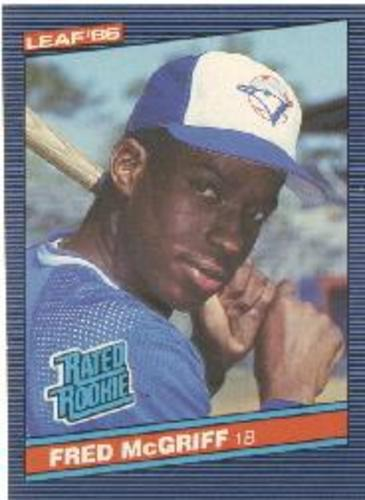 Photo of 1986 Leaf/Donruss #28 Fred McGriff RR RC
