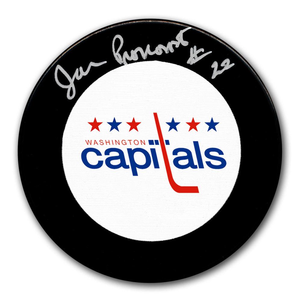 Jean Pronovost Washington Capitals Autographed Puck