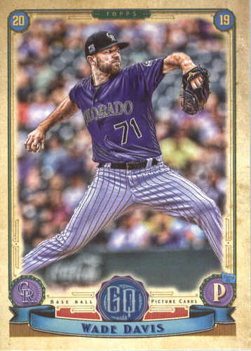 Photo of 2019 Topps Gypsy Queen #135 Wade Davis
