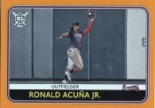 Photo of 2020 Topps Big League Orange #82 Ronald Acuna Jr.