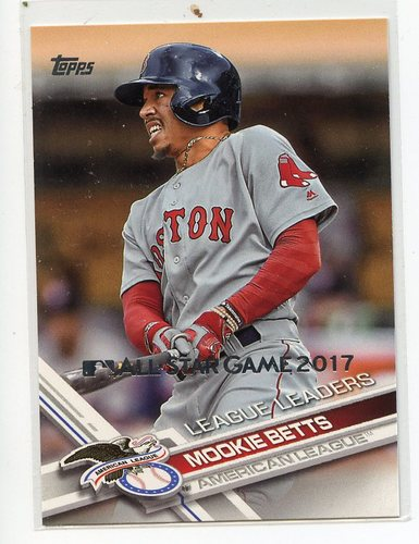 Photo of 2017 Topps All Star Game Silver #242 Mookie Betts LL